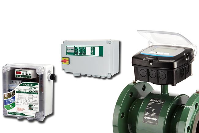 Watermeters, Control units, Sensors